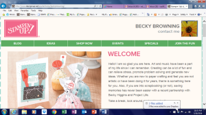 Becky Browning Online Store
