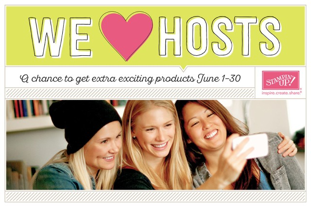 We Love Hosts: fA chance to get extra exciting products June 1-30