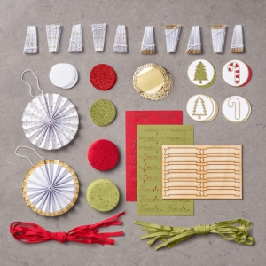 Picture of the contents of the Be Merry Kit