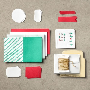 Contents of the Watercolor Wishes Kit